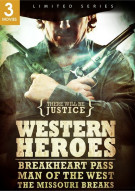 Western Heroes: Breakheart Pass / Man Of The West / The Missouri Breaks (Triple Feature) Movie