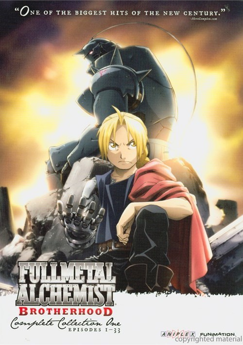 Full Metal Alchemist Brotherhood: Complete Collection One Movie