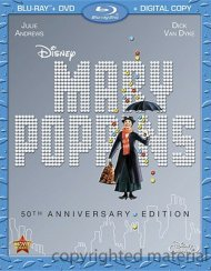 Mary Poppins: 50th Anniversary Edition (Blu-ray + DVD + Digital Copy) Blu-ray