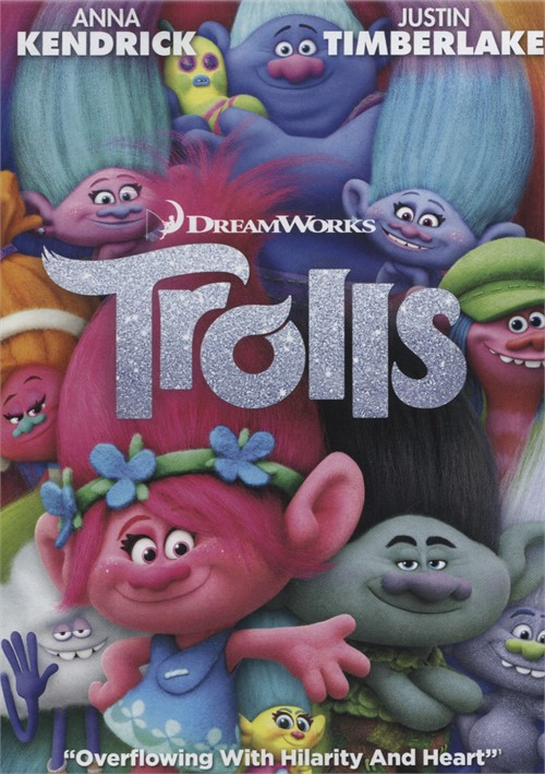 Trolls (DVD + UltraViolet) Movie