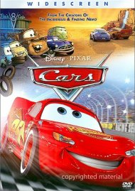 Cars (Widescreen) Movie