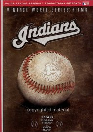 Vintage World Series Films: Cleveland Indians Movie