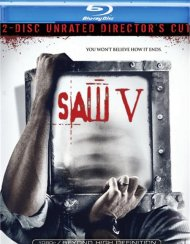 Saw V: 2 Disc Unrated Directors Cut Blu-ray