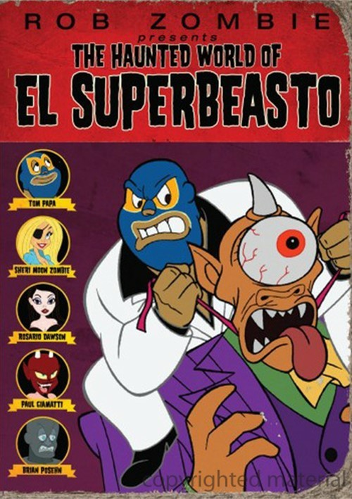 Haunted World Of El Superbeasto, The Movie