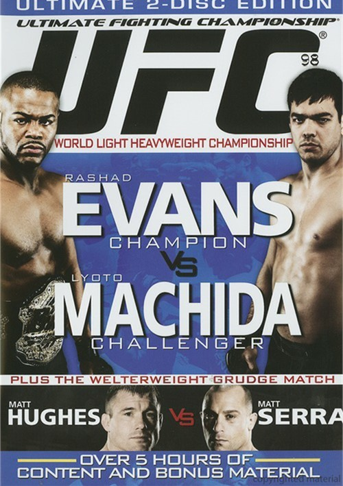 UFC 98: Evans Vs. Machida Movie
