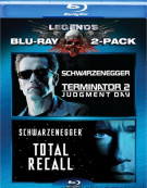 Terminator 2: Judgment Day / Total Recall (Double Feature) Blu-ray