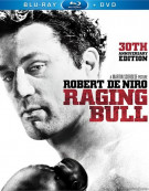 Raging Bull: 30th Anniversary Edition (Blu-ray + DVD Combo) Blu-ray
