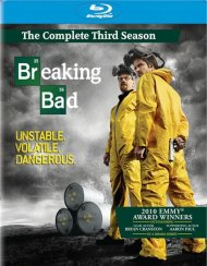 Breaking Bad: The Complete Third Season Blu-ray