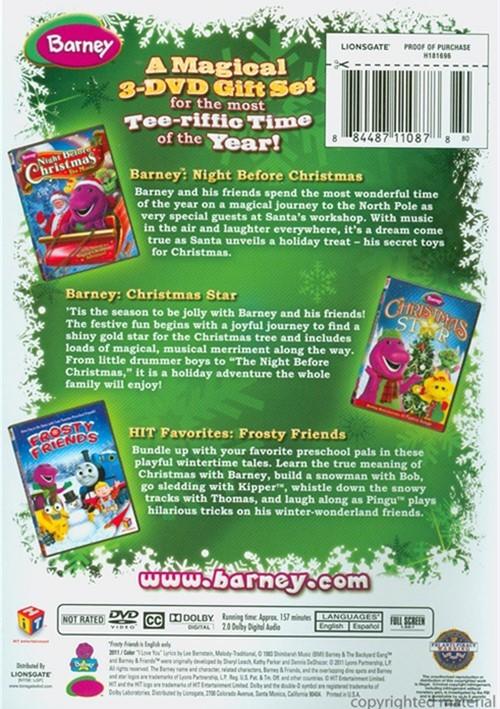 barney holiday favorites dvd 2011 dvd empire. Black Bedroom Furniture Sets. Home Design Ideas