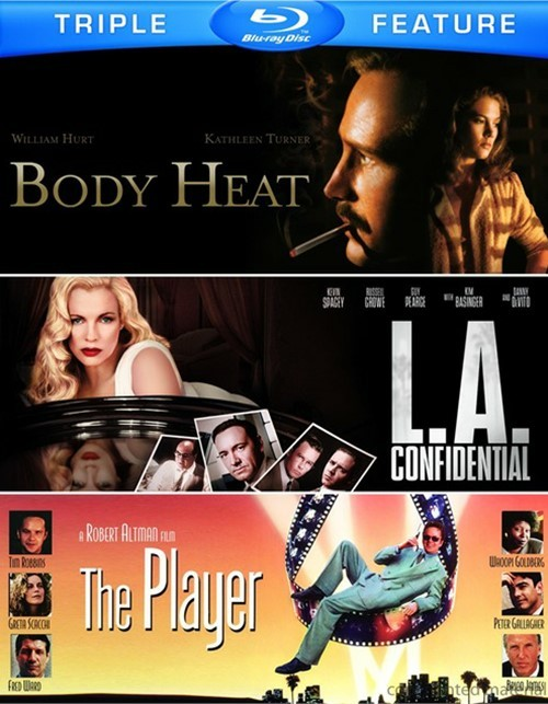 Body Heat / L.A. Confidential / The Player (Triple Feature) Blu-ray