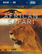 My African Safari (Blu-ray + DVD + Digital Copy) Blu-ray