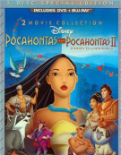 Pocahontas: Two Movie Special Edition (DVD + Blu-ray Combo) Blu-ray