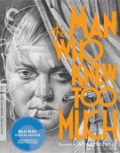 Man Who Knew Too Much, The: The Criterion Collection Blu-ray