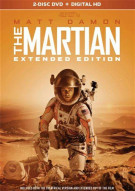 Martian, The: Extended Edition (DVD + UltraViolet) Movie