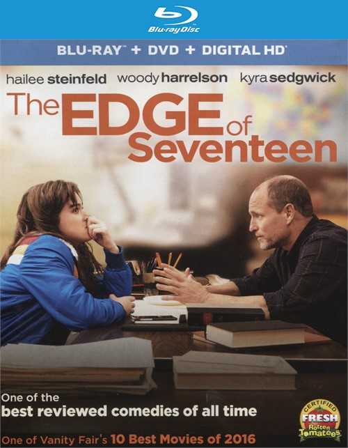 Edge of Seventeen, The (Blu-ray + DVD + UltraViolet) Blu-ray