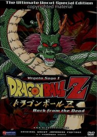 Dragon Ball Z: Vegeta Saga 1 - Back From The Dead (Uncut) Movie