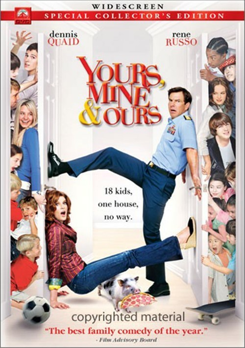Yours, Mine & Ours (Widescreen) Movie