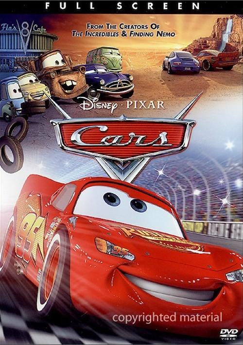 Cars (Fullscreen) Movie