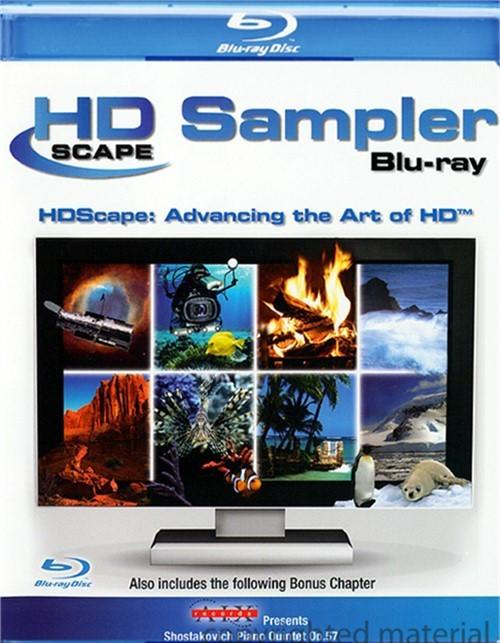 HDScape Sampler Blu-ray