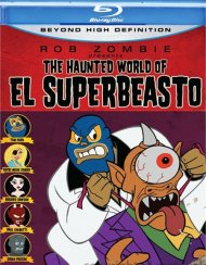 Haunted World Of El Superbeasto, The Blu-ray
