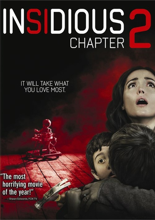 Insidious 3 Quotes About Love : Insidious Chapter 2 2013 Front Cover 81337 jpg