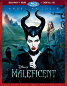 Maleficent (Blu-ray + DVD + Digital HD) Blu-ray