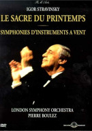 Boulez Conducts Stravinsky Movie