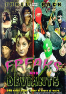 Freaks And Deviants 3 Pack Movie