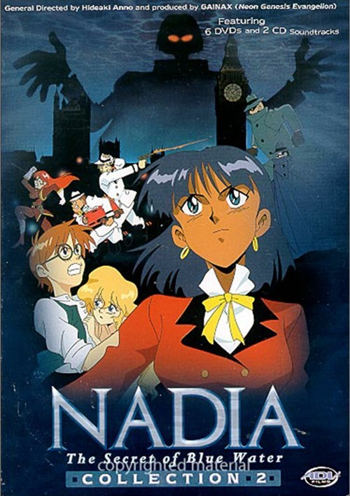 Nadia: The Secret Of Blue Water - Collection 2 + CD Movie