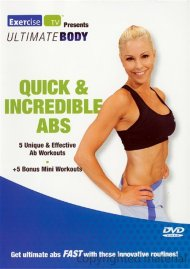 Ultimate Body: Quick & Incredible Abs Movie