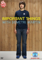 Important Things With Demetri Martin: Season One Movie