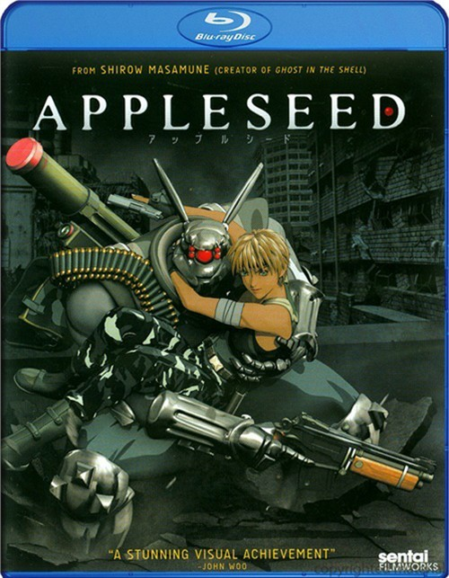 Appleseed Blu-ray
