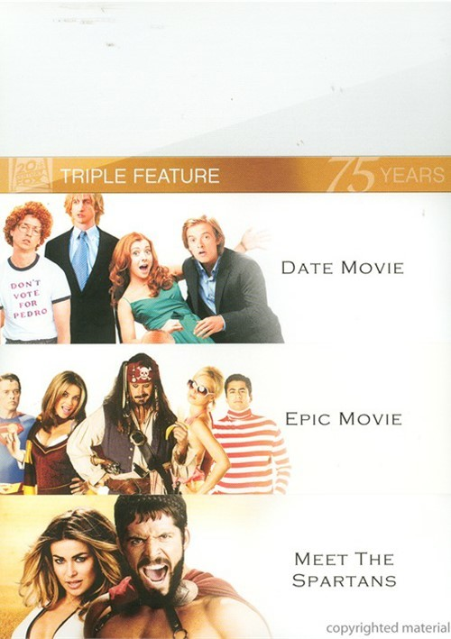 Date Movie / Epic Movie / Meet The Spartans (Triple Feature) Movie