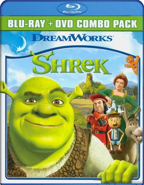 Shrek (Blu-ray + DVD Combo) Blu-ray