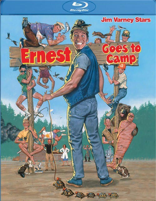 Ernest Goes To Camp Blu-ray