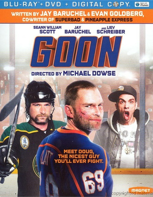 Goon (Blu-ray + DVD + Digital Copy) Blu-ray