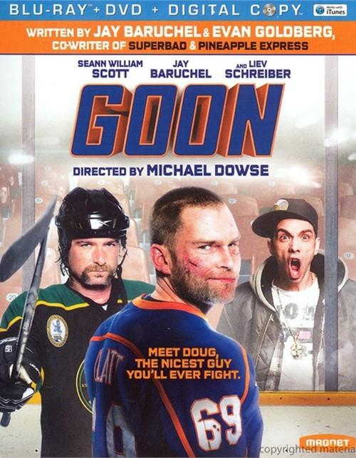 Goon (Blu-ray + DVD + Digital Copy) Blu-ray