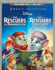 Rescuers, The: 35th Anniversary Edition - 2 Movie Collection (DVD + Blu-ray Combo) Blu-ray