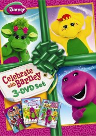 Barney: Celebrate With Barney (3 Pack) Movie