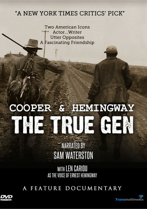 Cooper And Hemingway: The True Gen Movie