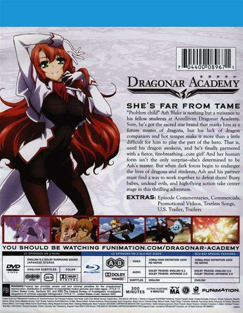 Dragonar Academy – The Complete Series (Blu-ray / DVD Combo