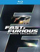 Fast & Furious 7-Movie Collection (Blu-ray + UltraViolet) Blu-ray