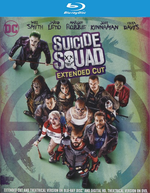 Suicide Squad - Extended Cut (Blu-ray + DVD + UltraViolet) Blu-ray