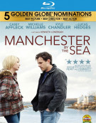 Manchester By The Sea (Blu-ray + DVD + UltraViolet) Blu-ray