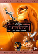Lion King, The: Special Edition Movie