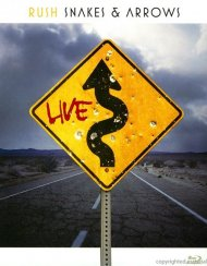 Rush: Snakes & Arrows Live Blu-ray