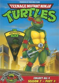 Teenage Mutant Ninja Turtles: Season 7 - Part 4 (The Raphael Slice) Movie