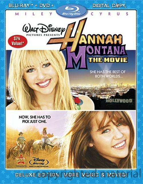 Hannah Montana: The Movie Blu-ray