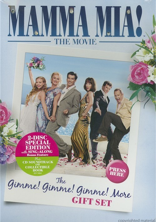Mamma Mia!: Gimmie! Gimmie! Gimmie! More Gift Set Movie