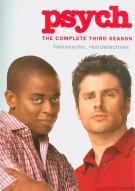 Psych: The Complete Third Season (Slim Pack) Movie